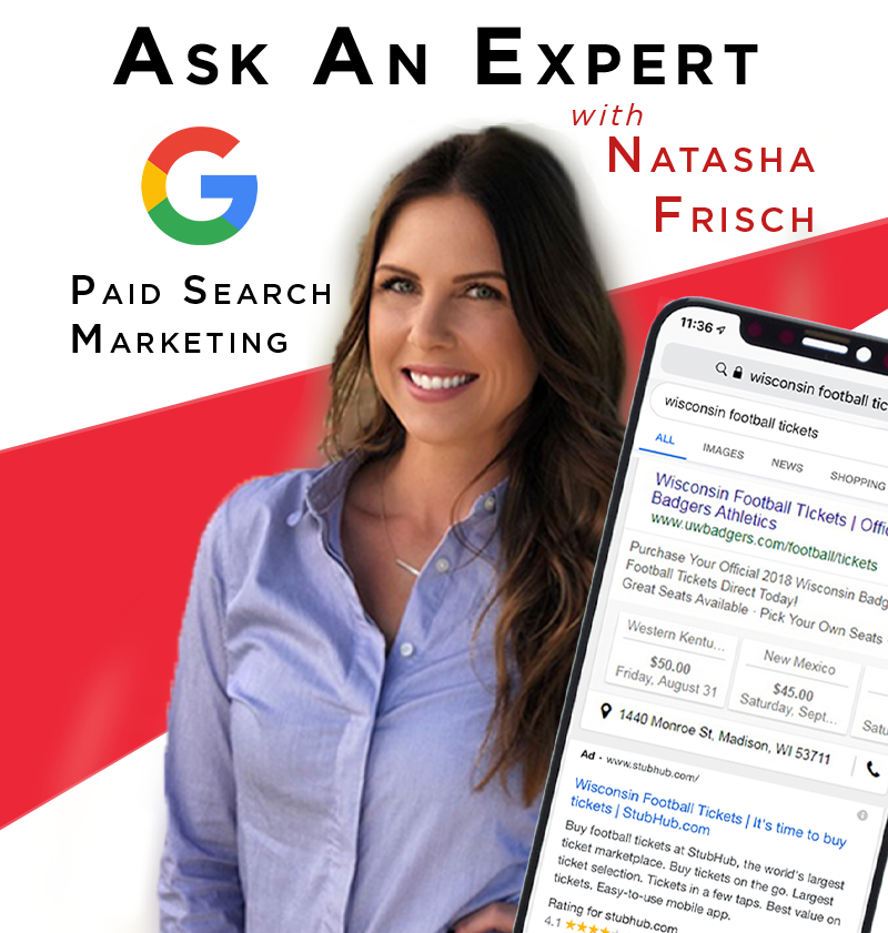 More Info for Ask an Expert: Paid Search Marketing