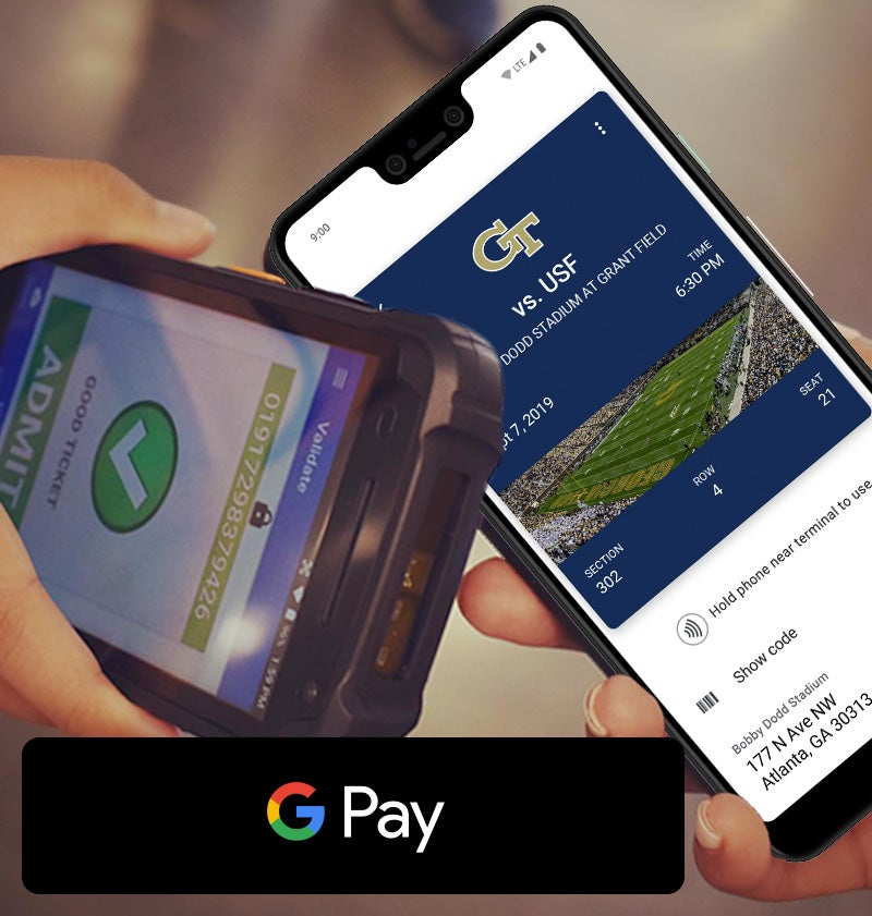 More Info for Paciolan Announces Contactless Ticketing with Google Pay