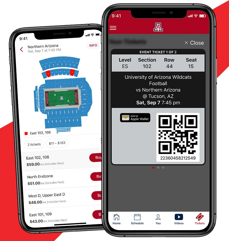More Info for In-app Ticketing Now Available with SIDEARM Sports App
