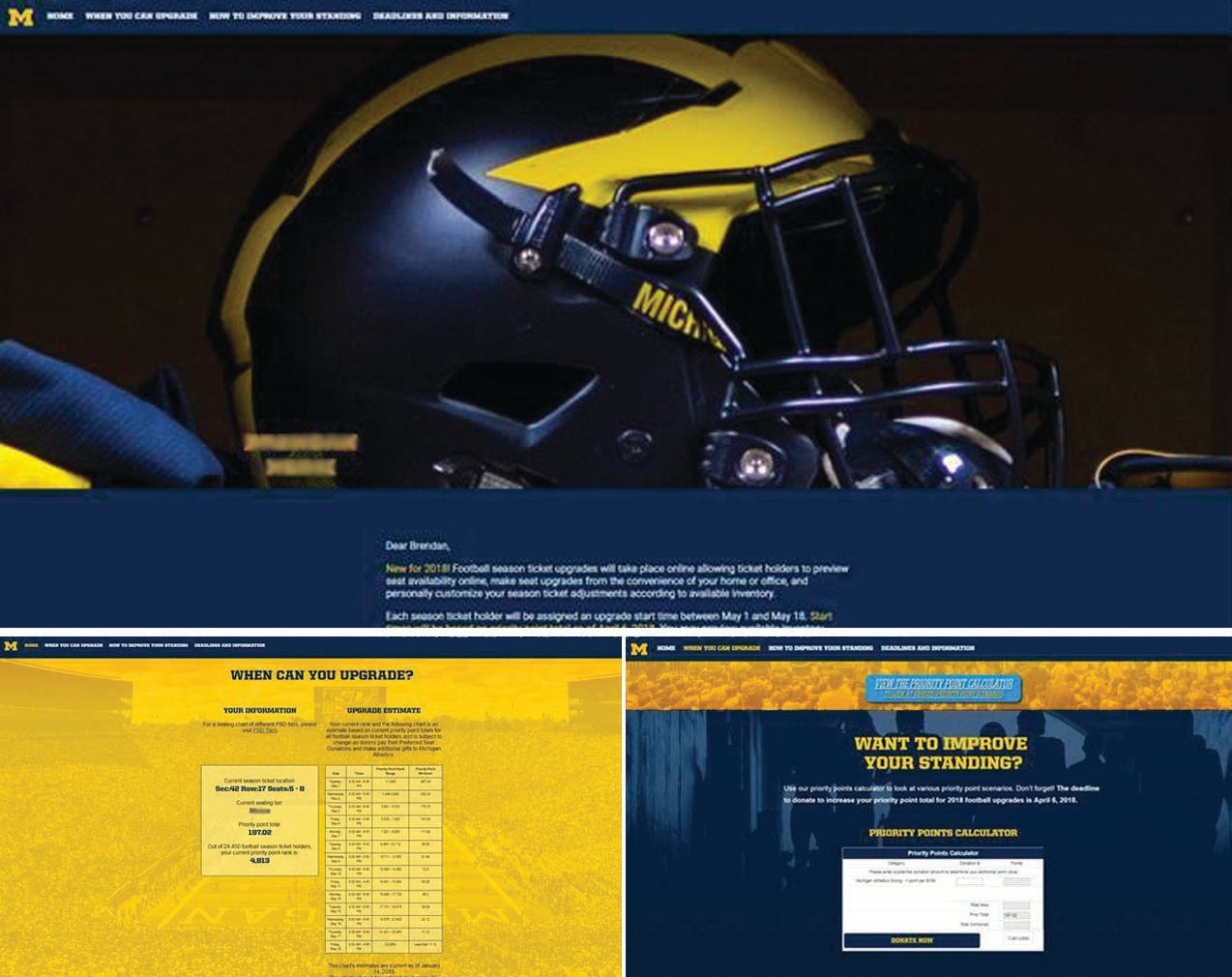 More Info for Michigan Wows Fans with their PURLS
