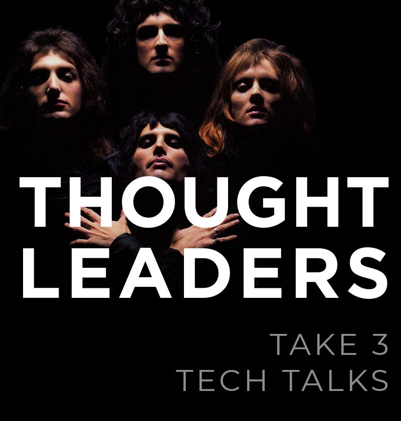 More Info for Thought Leaders - Tech Talks: Take 3 with Lakshmi Ramaseshan