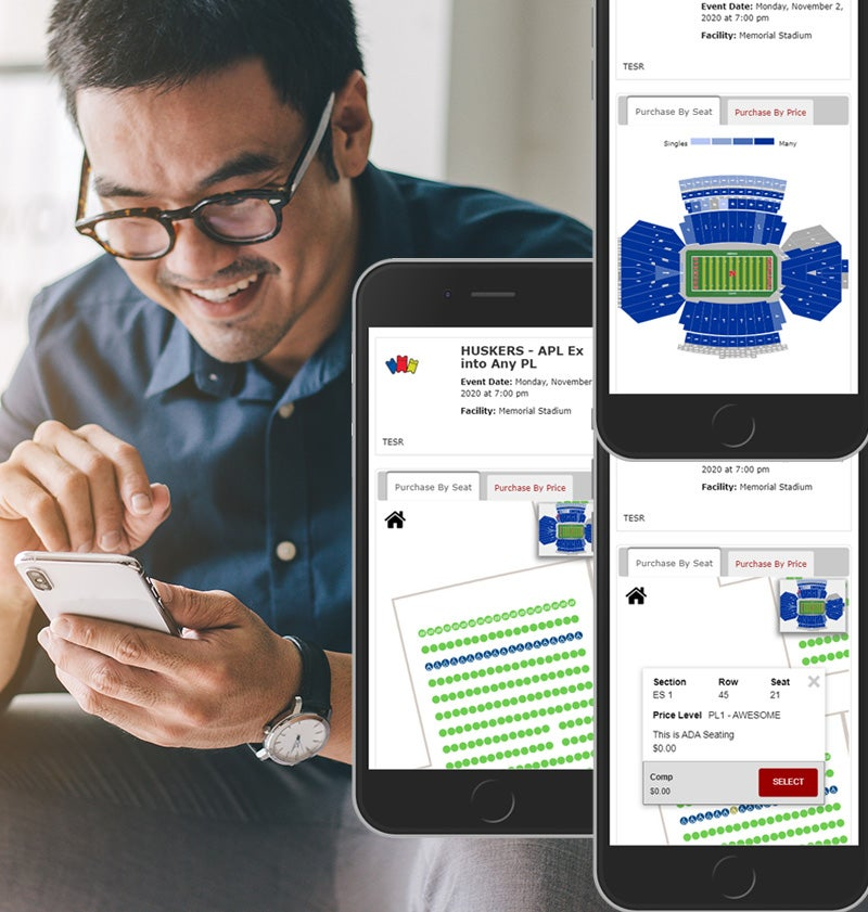 More Info for New Upgrade: Pick Your Own Seat Map